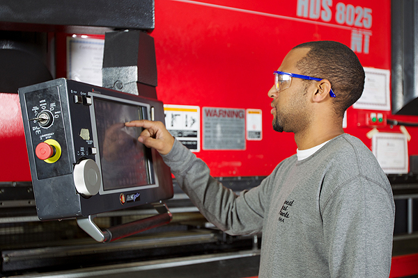 Midwest Metal Products - Press Brake Services