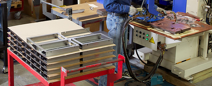Precision metal fabricators: Welding services